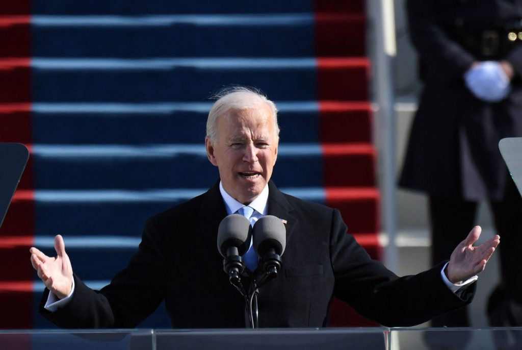 Storytelling from Joe Biden Speech